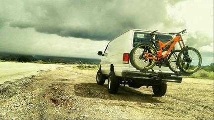 Off Road Van with Bike