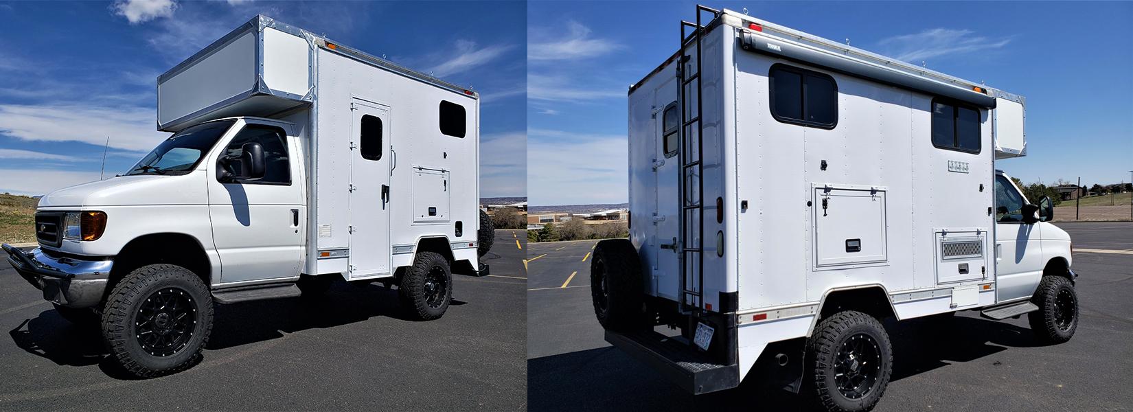 2003 E-350 Cutaway Box Van 4x4