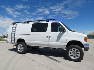 2007 Ford E-350 Extended Cargo 6.0 Diesel Timberline 4x4 Van