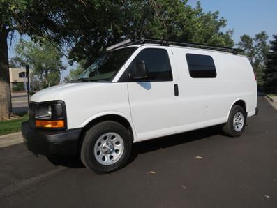 2014 Express AWD Cargo van