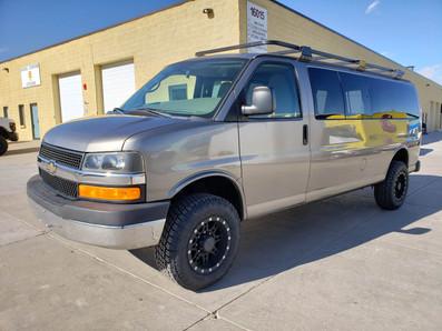 Timberline Chevy 4x4 3500 Van