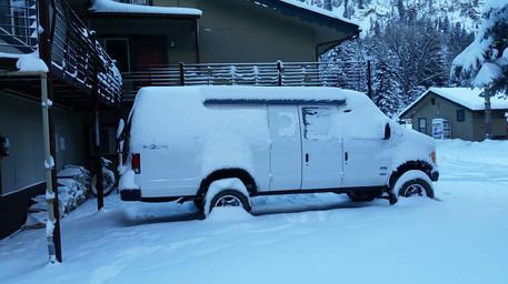 Snowy 4x4 Van