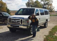 Lady with 4x4 Van