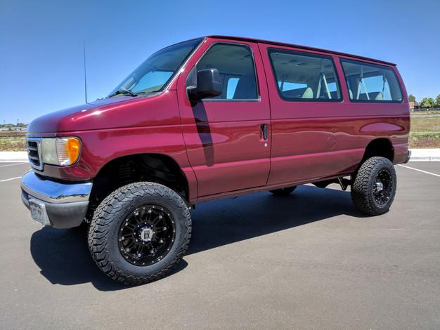 2003 Ford E-350 12p 7.3 Diesel 4x4