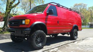 Diesel 4x4 Van