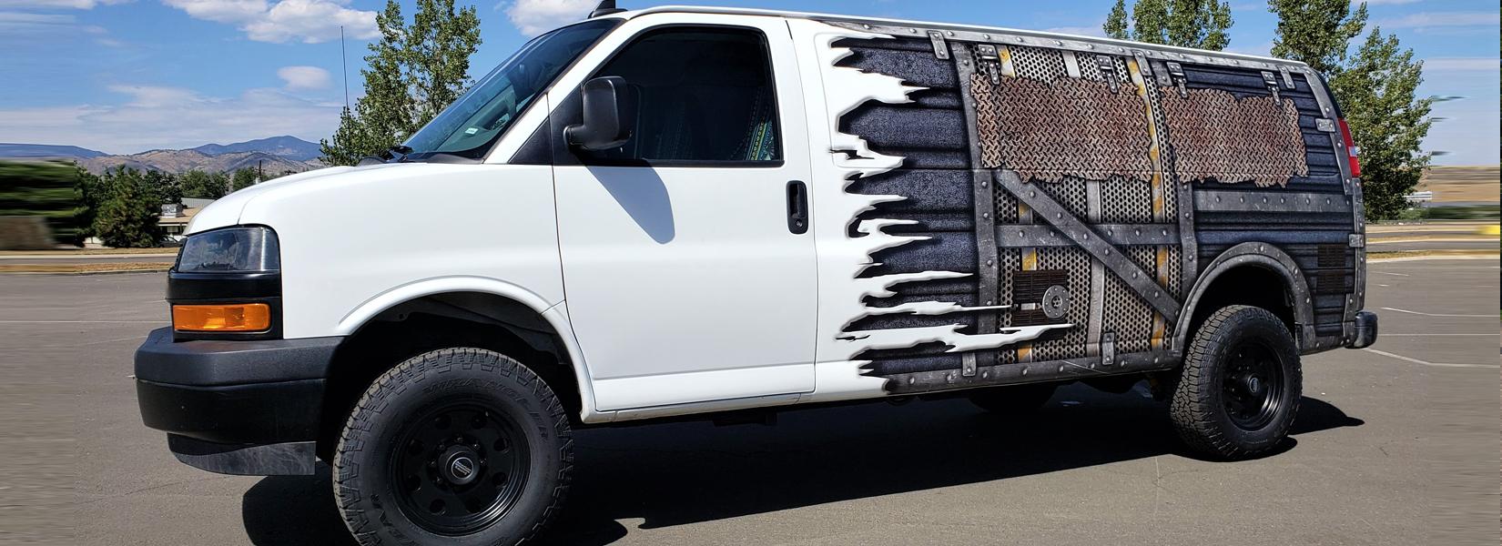 2018 V6 2500 4x4 Cargo