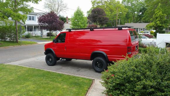 4x4 7.3 Van