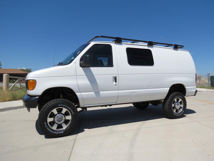 2003 Ford E-350 Cargo 7.3 Diesel Timberline 4x4 Van
