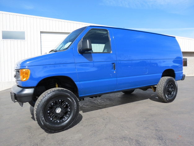 2004 Ford E-250 Cargo Timberline 4x4 Van