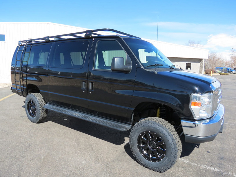 2014 Ford E-350 Extended Gas Passenger Timberline 4x4 Van