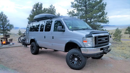 4x4 Baja Van