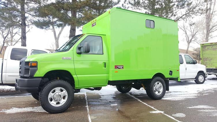 4x4 Box Van