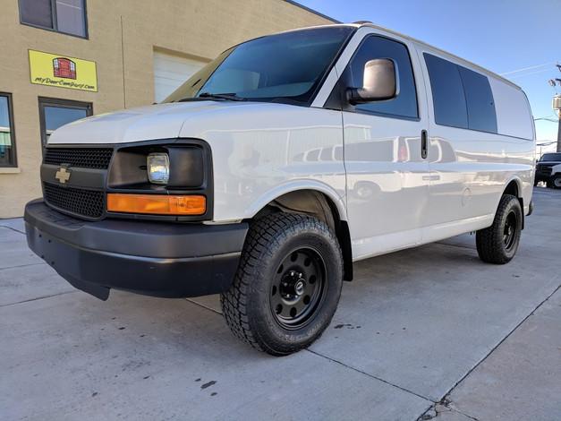 2011 Express 1500 AWD Van