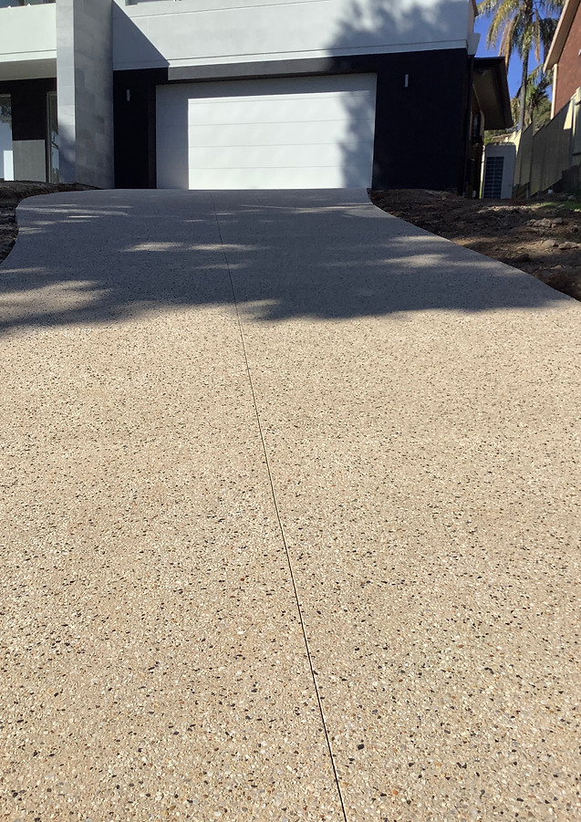 Holcim Exposed Aggregate Driveway