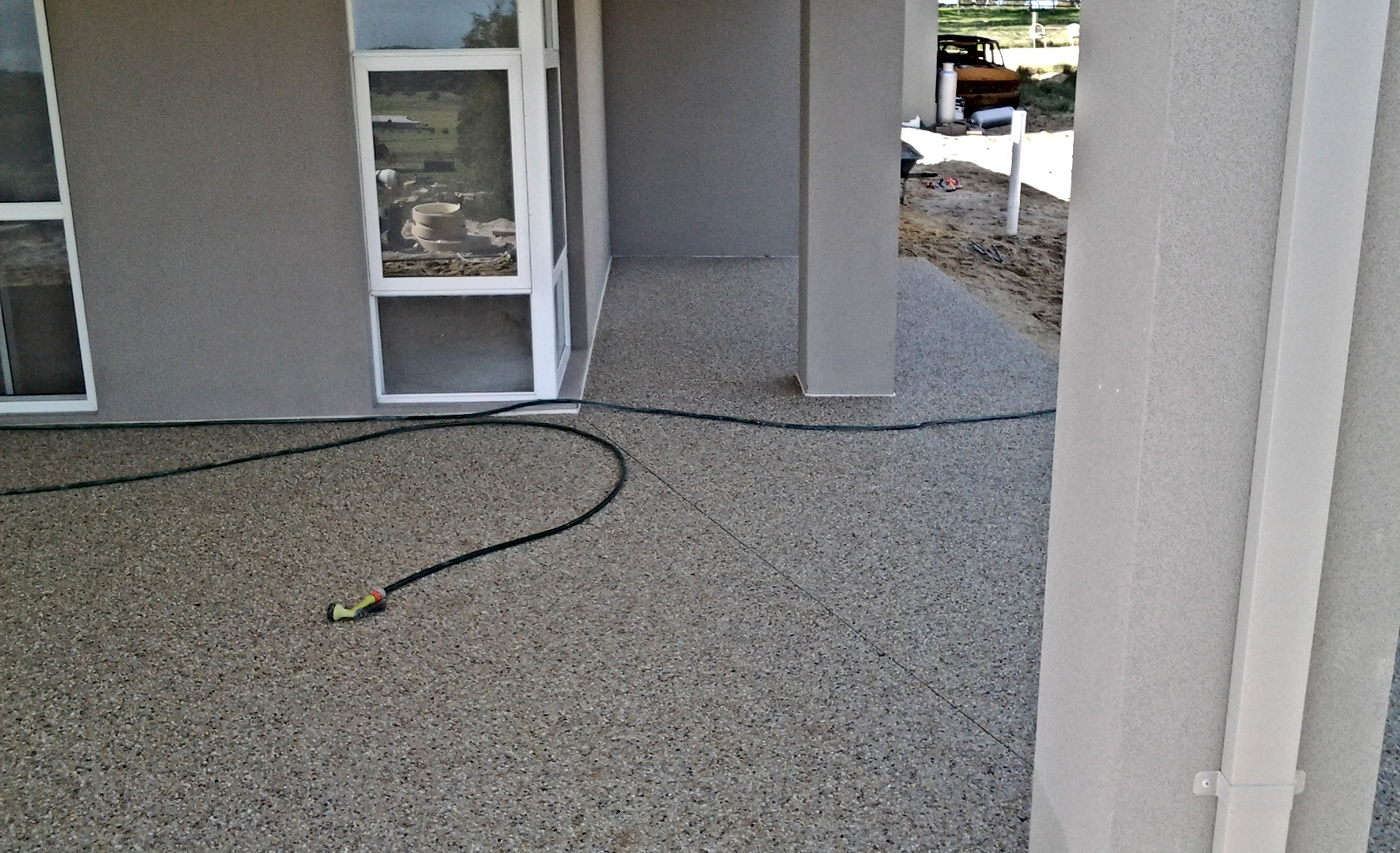 Exposed aggregate concrete adelaide prices
