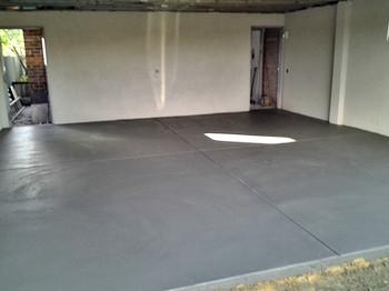 New Concrete Garage Floor Adelaide