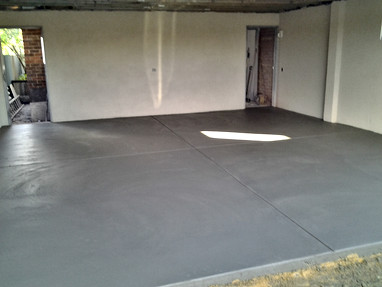 New Concrete Garage Floor Adelaide