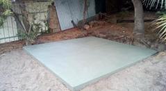 Shed Concrete Floor