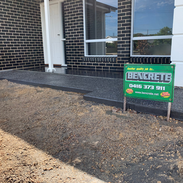 Exposed Aggregate Largs Bay