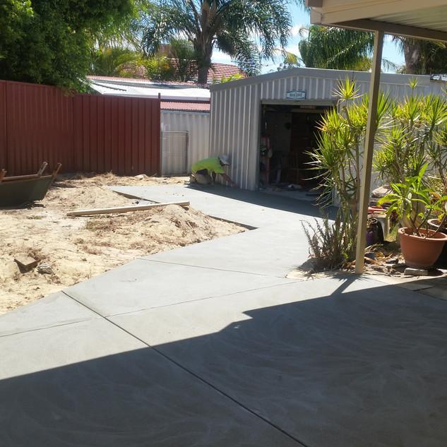 Concrete Location: Westbourne Park, Adelaide, South Australia, BENCRETE 0416 373 911