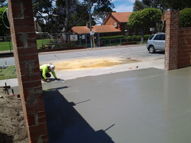 Garage Concrete Flooring Cost Adelaide
