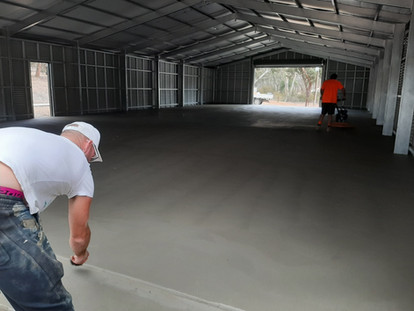 Factory Concrete Floor Adelaide