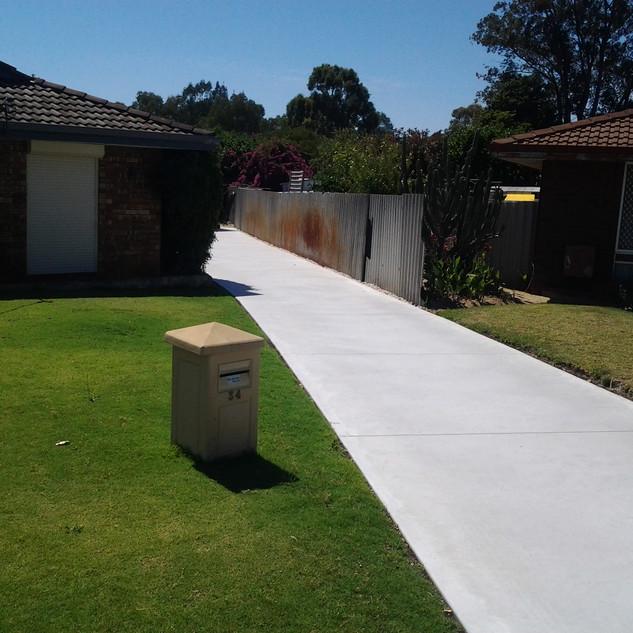 Concrete Location: Kilkenny, Adelaide, South Australia, BENCRETE 0416 373 911