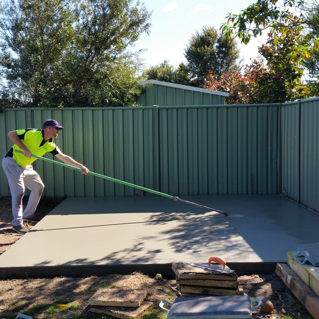 Concrete Location: Seacliff, Adelaide, South Australia, BENCRETE 0416 373 911