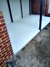 Concrete bbq area, Adelaide