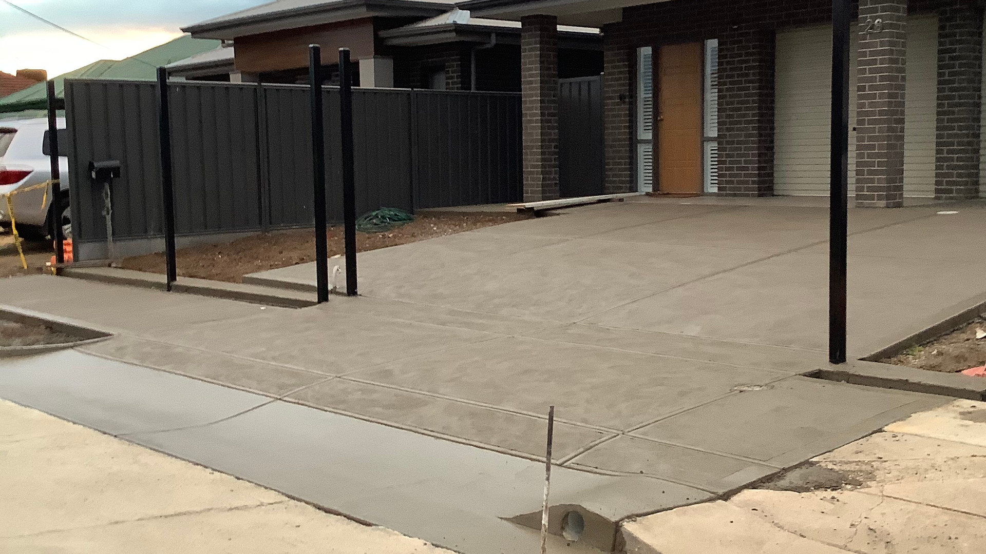 Concrete Driveway and Crossover Adelaide