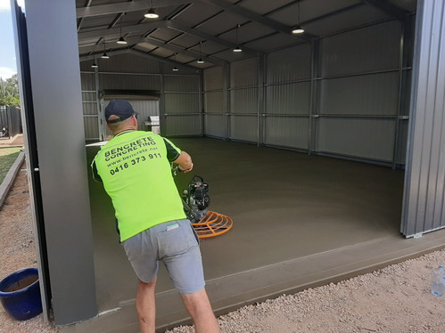 Smooth Finish Concrete Adelaide