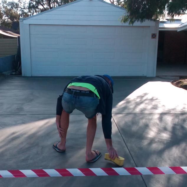 Concrete Location: Angle Vale, Semaphore, South Australia, BENCRETE 0416 373 911