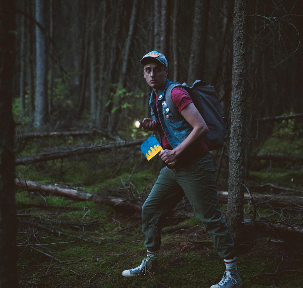 Josh Travnik. Lost in the Woods. CAMP