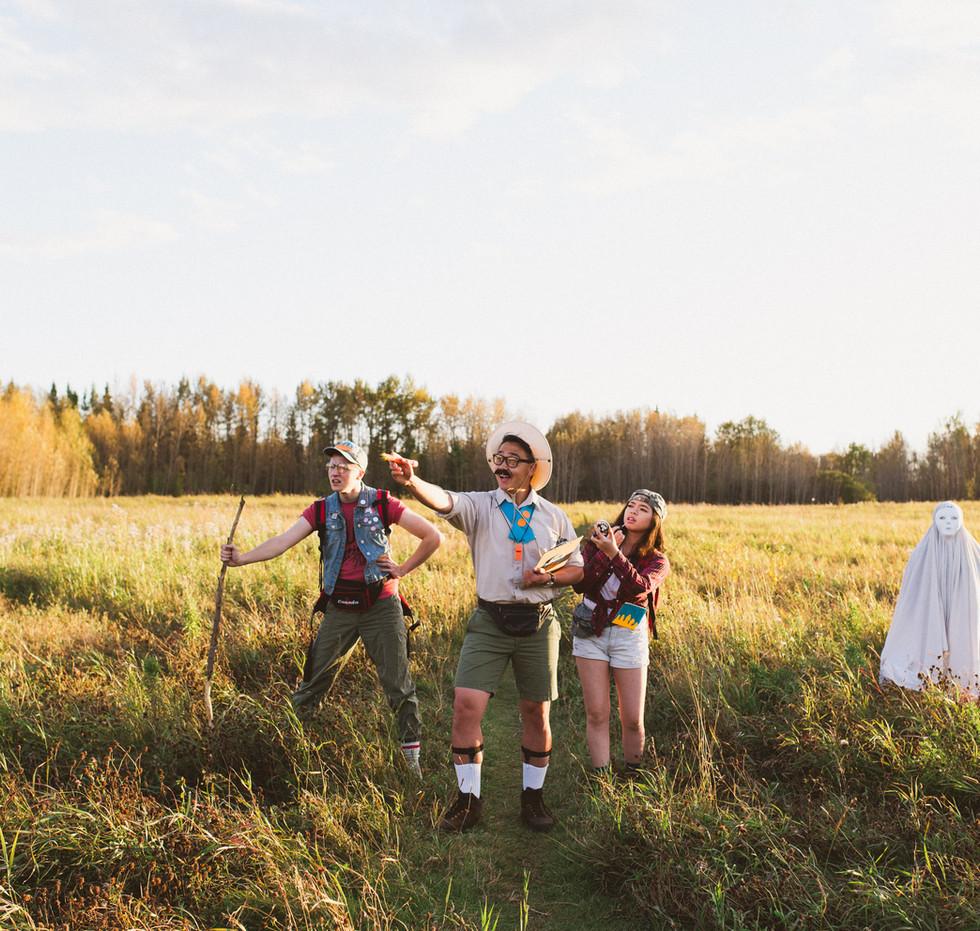 Trail Hike. CAMP