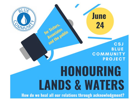 Honouring the Lands & Waters