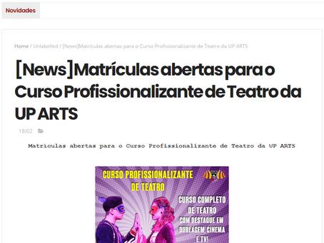 UP ARTS NO REINO LITERÁRIO