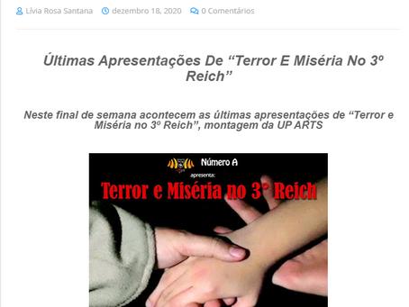 TERROR E MISÉRIA no TOP TV WEB