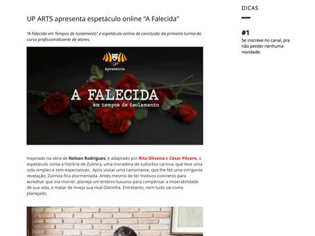 A FALECIDA NO CANAL TADEU RAMOS