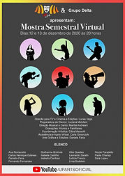 BANER MOSTRA VIRTUAL 2 SEMESTRE - 2020 -