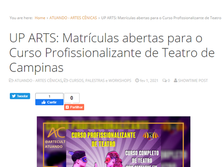 UP ARTS no ARTE CULT