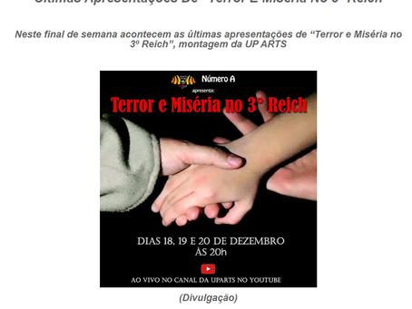 TERROR E MISÉRIA no FACE TV BRASIL