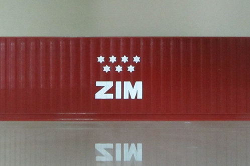 40ft ZIM container,limited edition