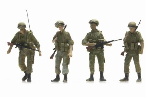 IDF soldiers highly detailed,HO scale