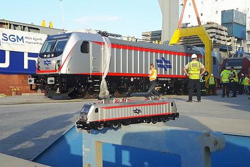 Bombardier Traxx AC3 Israel railways HO scale Digital sound DC version