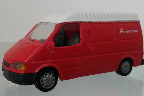 Israel Post Autority Ford Transit HO scale
