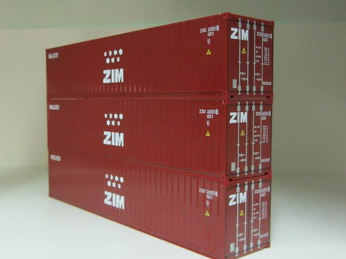 40ft ZIM container,limited edition.Pack of 3