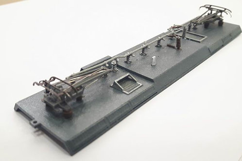 Roof only for Bombardier Traxx AC3 Israel railways HO scale