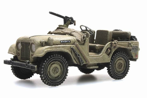 I.D.F Jeep highly detailed, 1:87 HO scale