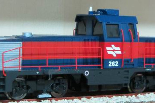 Israel Railway Gec Alsthom GA 900 Ho scale