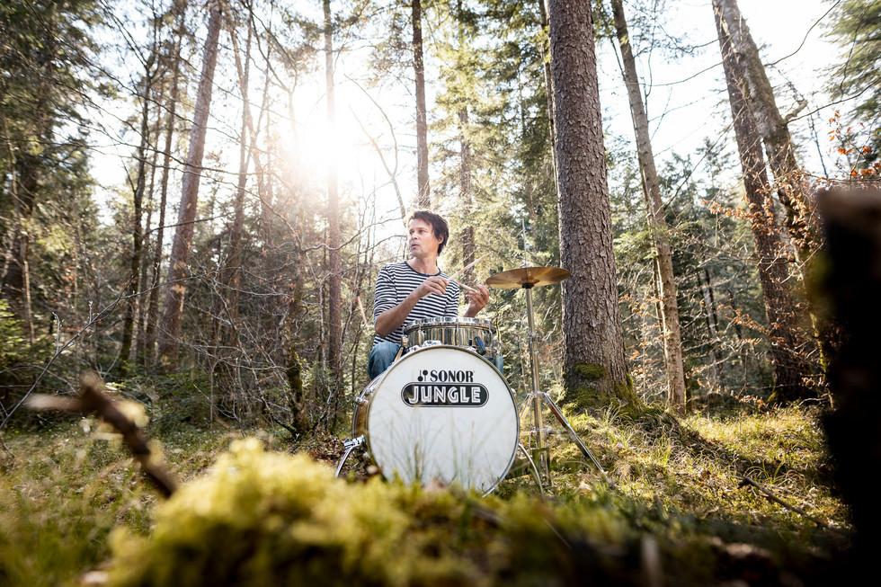 Roland im Wald